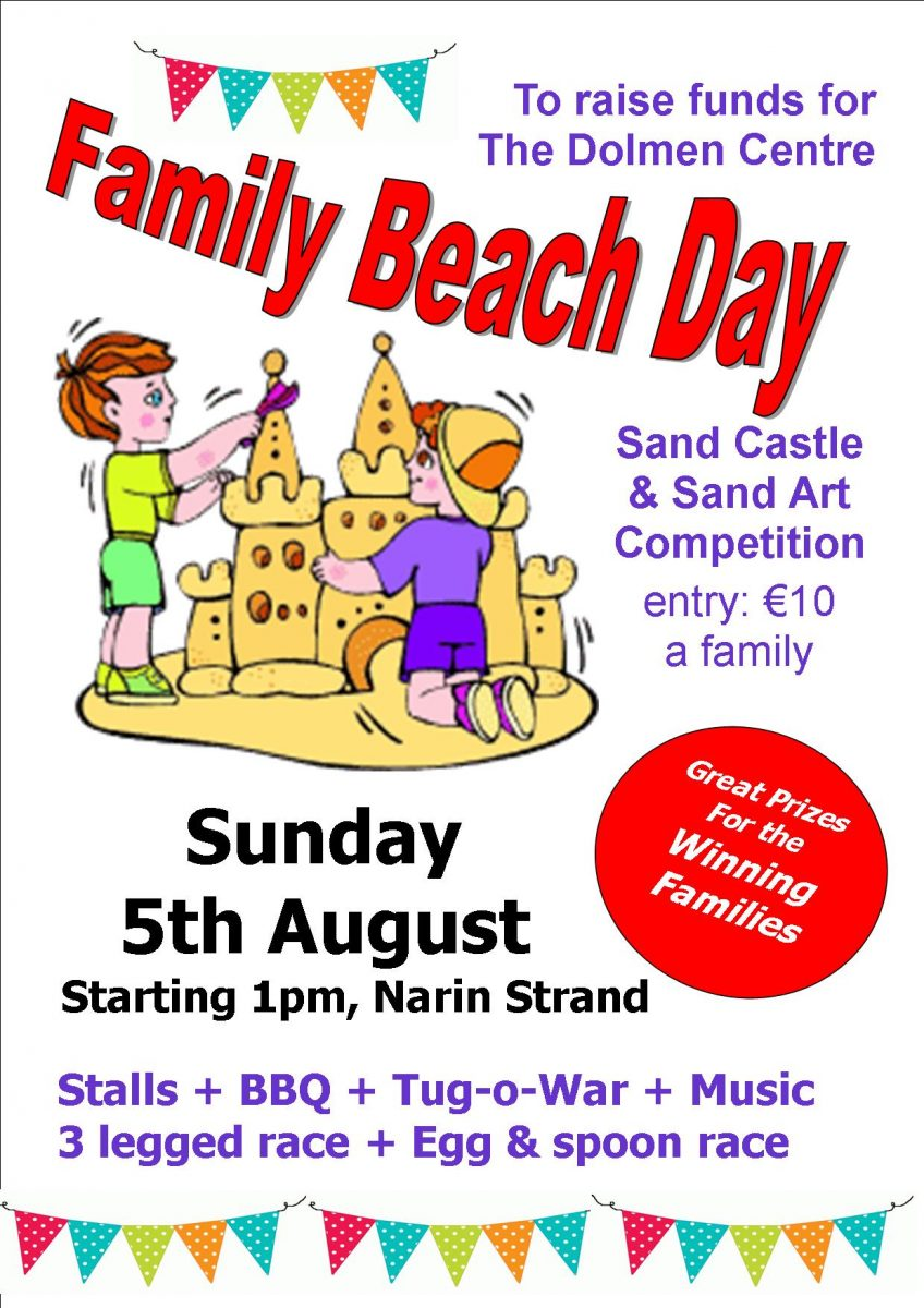 Dolmen Centre Beach Family Fun Day