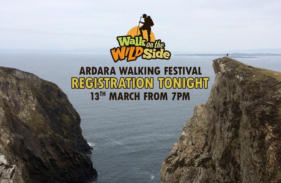 Walking Festival Registration