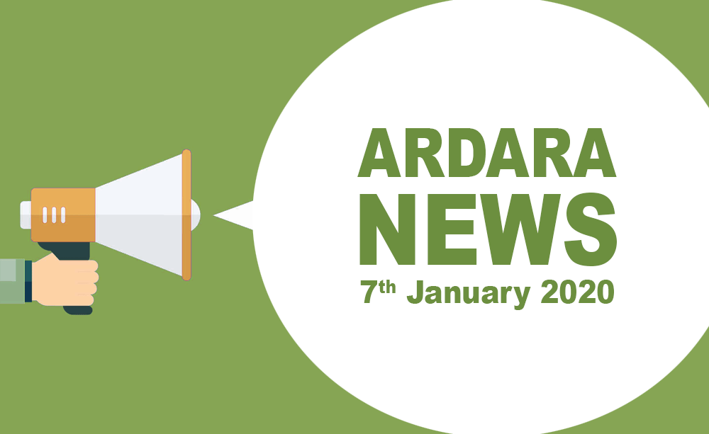 Ardara News 7th Jan 2020