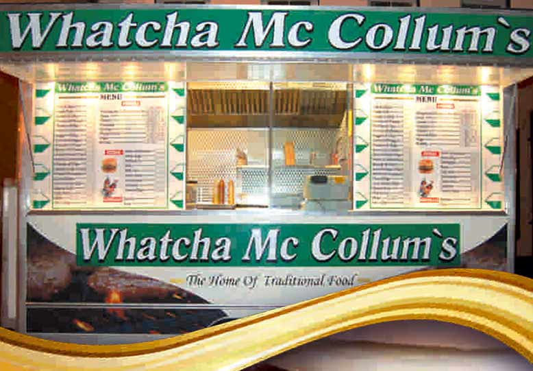 Whatcha Mc Collum's Take Away