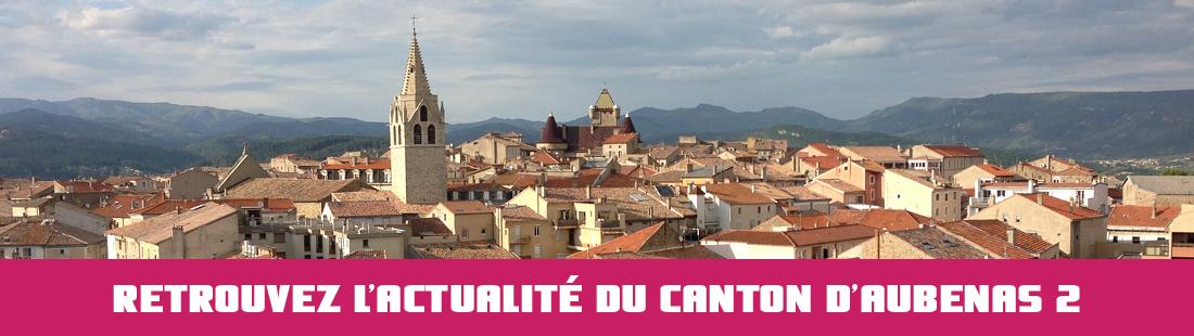 ACTUALITE DU CANTON D AUBENAS 2