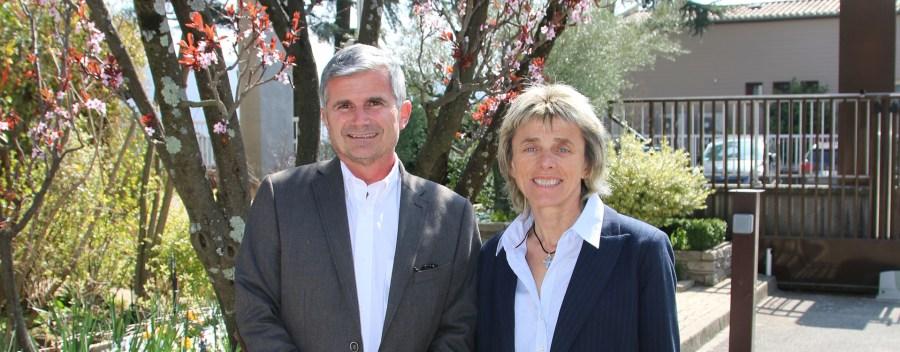 Bernadette Roche et Jérôme Dalverny