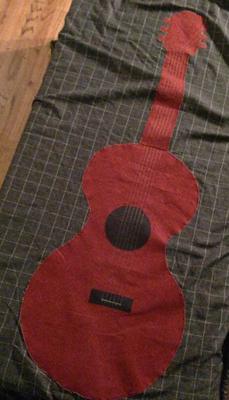 Guitar Blanket