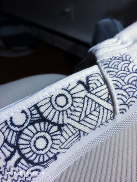 sharpie on shoes