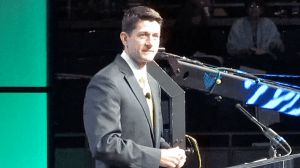 Paul Ryan speaks to Texas Republicans