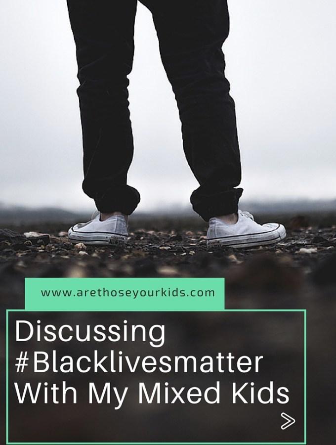Discussing #blacklivesmatter with