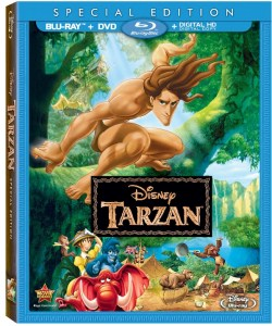 Disney BluRay Releases Tarzan Cover
