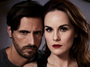 Good Behavior TNT Juan Diego Botto and Michelle Dockery,