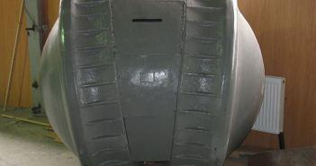 """The """"Kugelpanzer"""" at Kubinka Tank Museum (Credits: Wikimedia Commons)"""