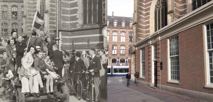 Amsterdam Then & Now by Koos Winkelman