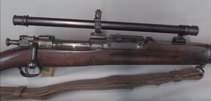US Sniper Rifles of World War 1