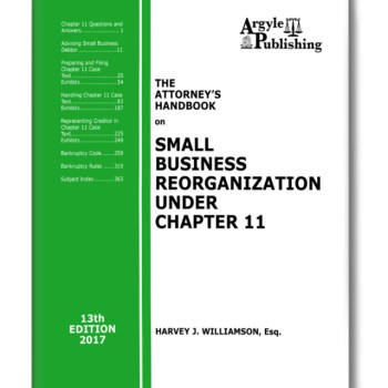 Bankruptcy Chapter 11 Book