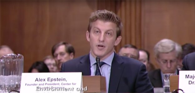 Alex Epstein Testifies