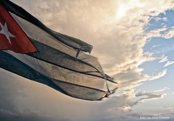 cuban flag Alex Graves