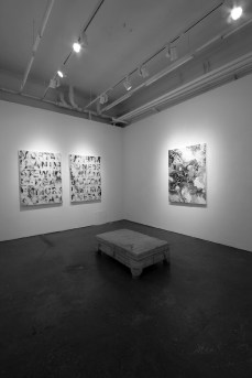 About Madness Series - installation view Aura Gallery 2011
