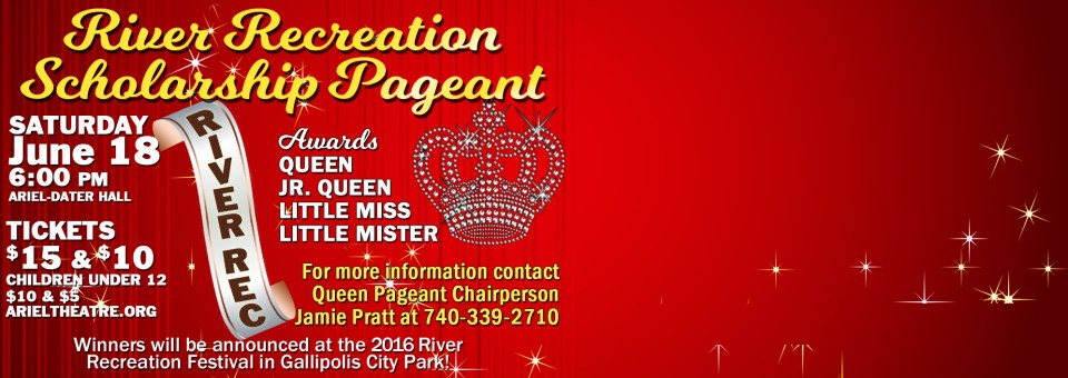 2016 River Recreation Scholarship Pageant