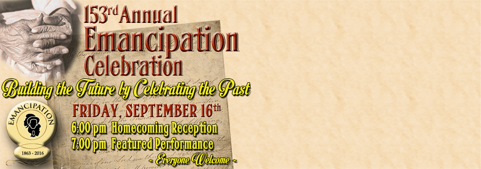 153rd Emancipation Day Celebration
