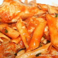 Homey Chicken Penne Pasta Recipe