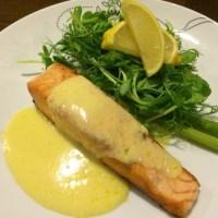 Pan-fried Salmon with White Wine Sauce Recipe
