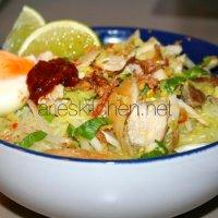 Soto Ayam Kediri Recipe (Chicken Soup Kediri Style)