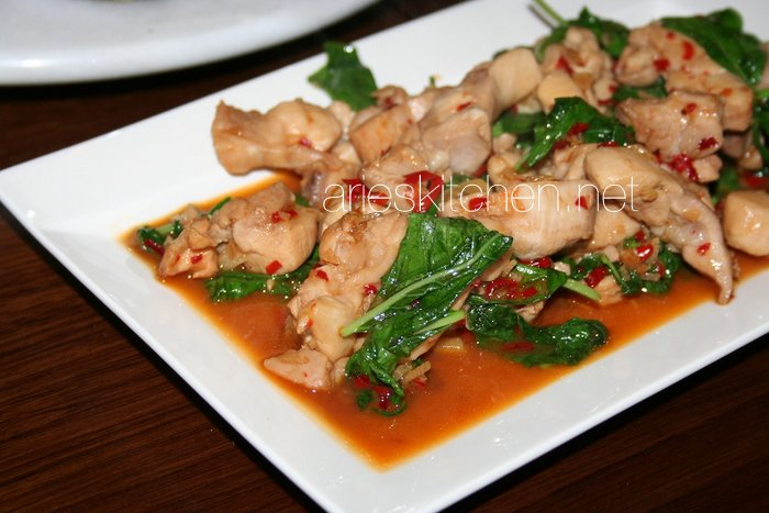 Easy Spicy Chicken Stir Fry with Basil