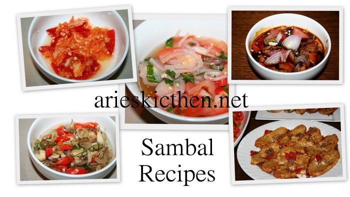 5 Authentic Indonesian Sambal Recipes