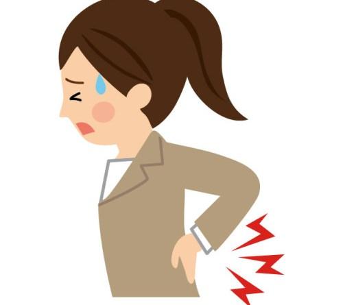 女性 腰痛い