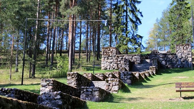 The Nero's stairs leading up to the Jyväskylä Ridge. / Neron portaat ylös Jyväskylän harjulle.