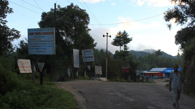 Places to see in Daman, Nepal? Besides the views, there's not much to see in Daman.
