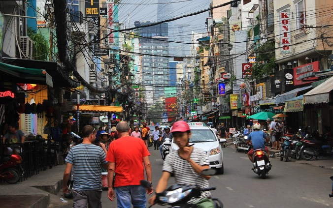 Bui Vien Street in Ho Chi Minh City.