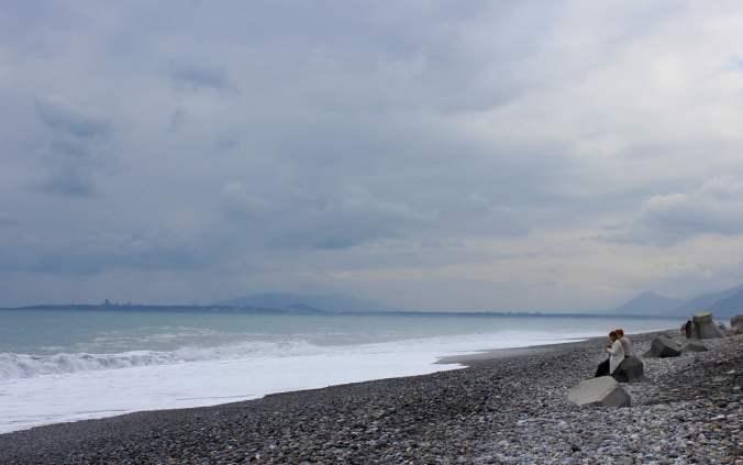 Coast of Philippine Sea from Xinsheng, Taiwan.