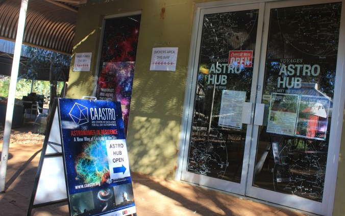 Astro Hub in Ayers Rock Resort