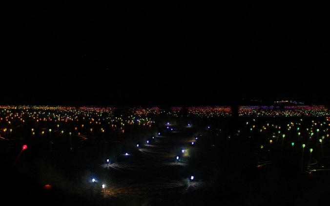 Field of Light Uluru by Bruce Munro