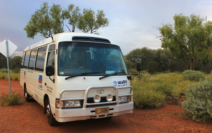 Uluru Express Hop On Hop Off Bus