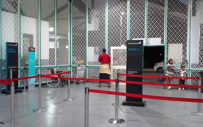 Nuku'alofa airport check-in