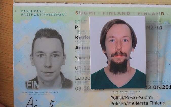 Why I Took a Break from Traveling. Old and new passport photo comparison.