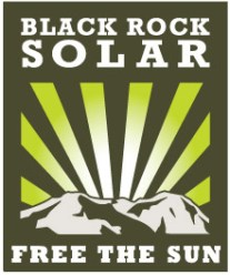 Black Rock Solar logo