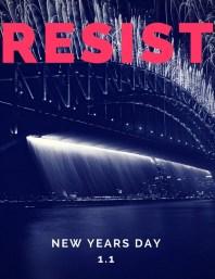 Resist - New Years Eve