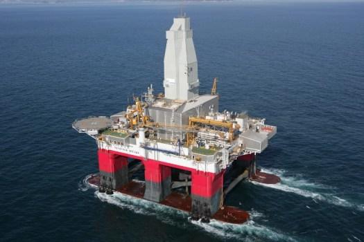 Semi Subersible Drilling Rig