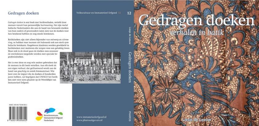 omslag boek gedragen doeken