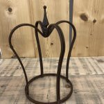 Metal Crown from arkvintage.com. shop buy online fast delivery store market place camberley surrey Rusty wrought iron crown. Can be used for a plant stand or garden ornament. Alternatively inside as an interiors feature!? Team Arkvintage love this item.
