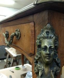 Furniture Repair of an Antique Desk