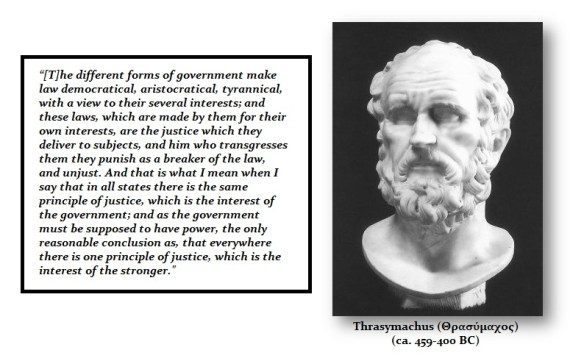 Thrasymachus Quote