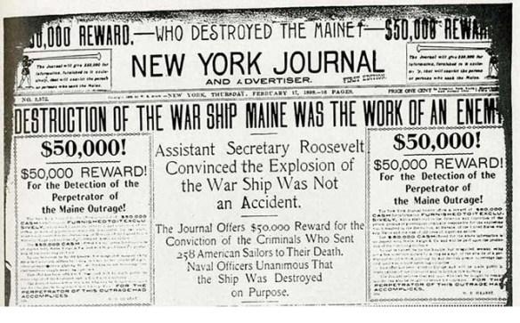1898 Sinking Maine