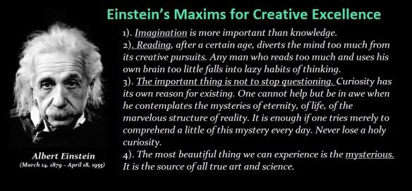 Einsteing-Maxims