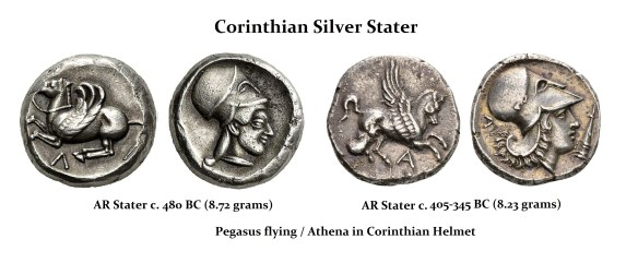 Corinth Staters 5th-4th century