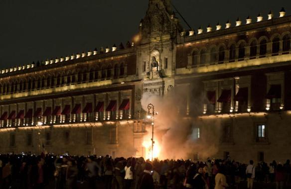 México-Protesto