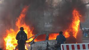 ECB Riots Frankfurt