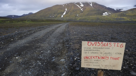 Icelandic volcano photo