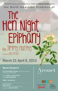 The Hen Night Epiphany by Jimmy Murphy (poster)